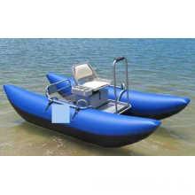 Barco inflável de pantoão de 3,2 m para uma pessoa