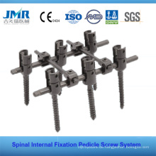 FDA Approved Spinal Internal Fixation Wirbelsäule Implantat Wirbelsäule Chirurgie Poly Axial Pedikel Schraube