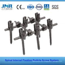 FDA Aprobado Fijación Interna Espinal Implante Espinal Cirugía de la columna vertebral Tornillo Poly Axial Pedicle