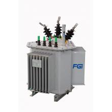 Transformateur de refroidissement d'huile en trois dimensions