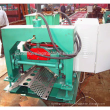 Color steel wind shield dust controlling roll forming machine