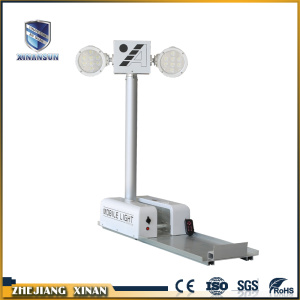 New style emergency telescopic hydraulic mast light tower