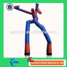 Spider-men tube ballon pneumatique gonflable à vendre