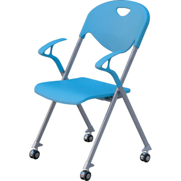 New Product Stackable Chair With Wheel and Armrest (YCD-55)