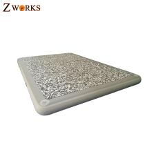 Esteira de flutuação material do ponto do PVC e da gota do OEM para o lazer