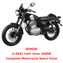 QINGQI Cafe racer 200RB Complete Motorcycle Spare Parts