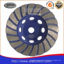 Turbo Grinding Wheel: 105mm Diamond Turbo Cup Wheel