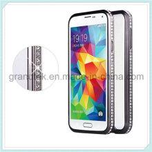 Fashion Bling Diamond Metal Bumper Frame Case for Samsung Galaxy S5 I9600