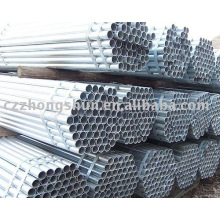 Hot G.I Pipe/galvanized steel tube