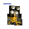Telescoping Mast Diesel Mobile Light Tower