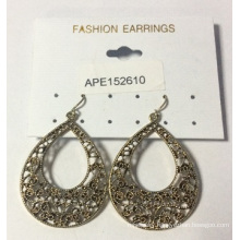 3 AAA Hollow Lace Earring with Metal
