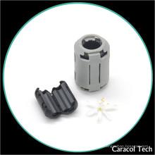 El cable magnético de Customed abraza la base de Ferritr para el cable de transmisión de 3.5mm