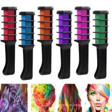 Conjunto temporal de color de tiza para el cabello