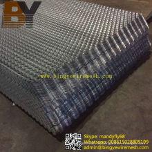 Edelstahl Aluminium erweiterte Platte