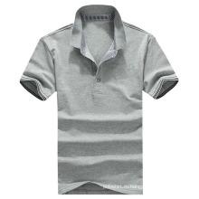 Рубашка поло бамбука высокого качества мягкая