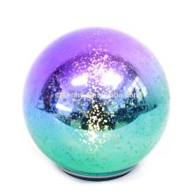 Ornamento encendido iluminado de la bola de la Navidad del LED