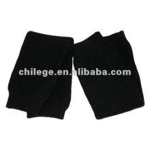 cashmere inverno quente canhões joelho kneeaps