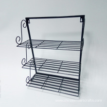 Metal 3-tier Wall Hanging Towel Rack