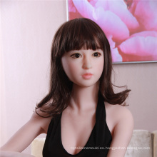 Super Realest Black Silicone Sex Girl Doll Toys para hombre