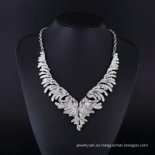 Joyería 2015 del collar de la CZ del Rhinestone del diseño de América Fashion