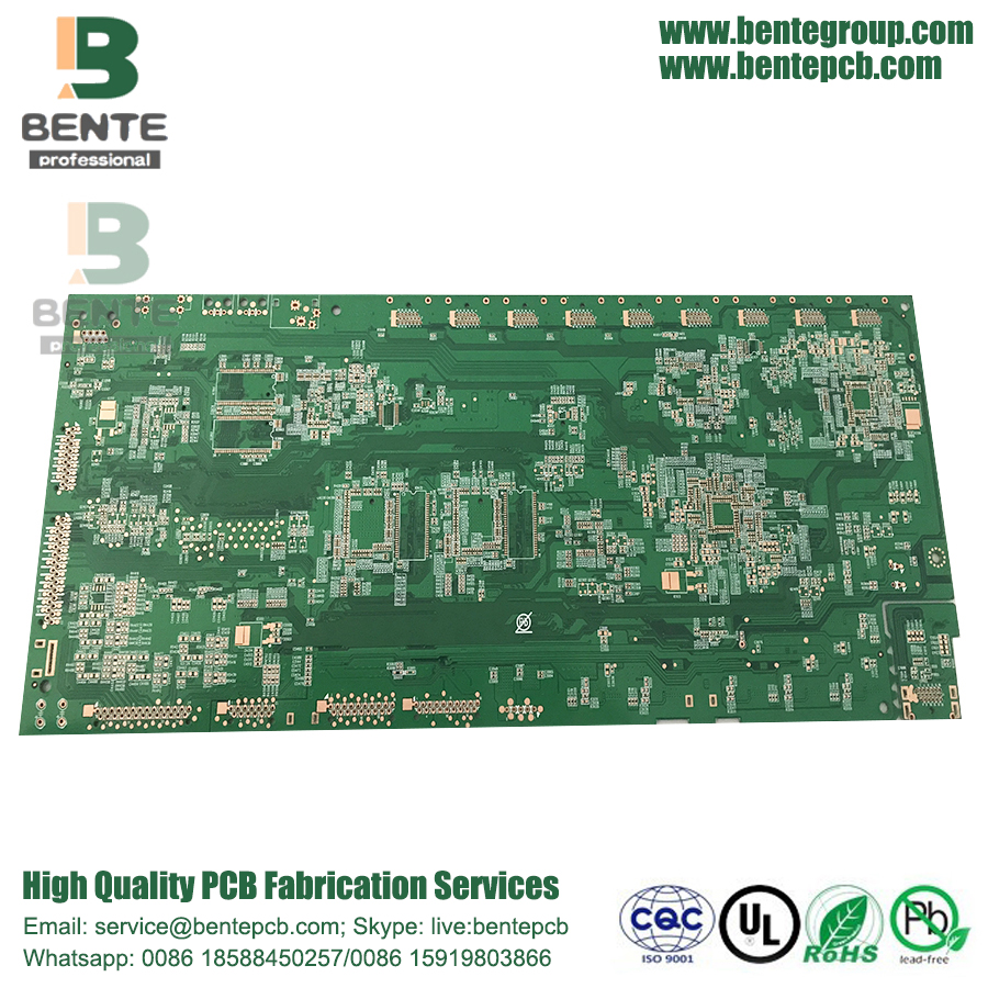 "Multilayer PCB 6 Layers FR4 Tg170 PCB ENIG 3u"" High TG PCB"