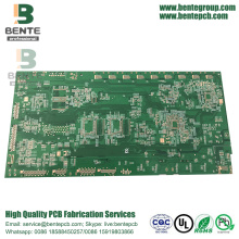 "Multilayer PCB 6 Schichten FR4 Tg170 Leiterplatte ENIG 3u ""High TG PCB"