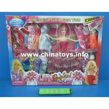 Lindos brinquedos de plástico para bonecas gril (876603)