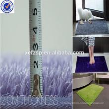 Decoración decorativa para el hogar antideslizante barato antideslizante delgado alfombra de baño estera
