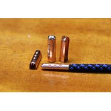 Hoodie strings aglet métallique / pointe de cordage en métal pour sangles, cordons, vêtements