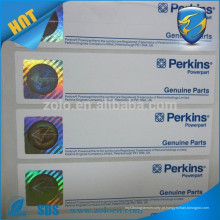 Bilhete de papel anti-falsificação de holograma
