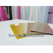 Revêtement en poudre pour matériaux métalliques