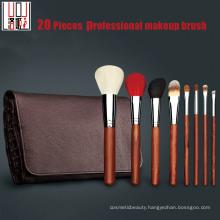 High Quality Professional Brush Set Natural Hair Rosewood Makeup Brush