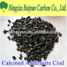 3-5mm de aditivo de carbono calcinou o preço do carvão antracite