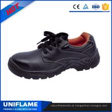 Sapatos de segurança de couro Toe Cap de couro de homens Ufb008