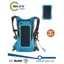 Высокое качество Велоспорт Солнечная сумка Панель питания Зарядное устройство Солнечный рюкзак