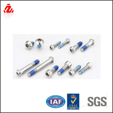 Zinc anti-loose nylok bolts