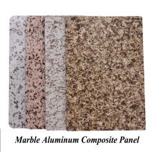 Мраморная алюминиевая композитная панель для использования вне помещений