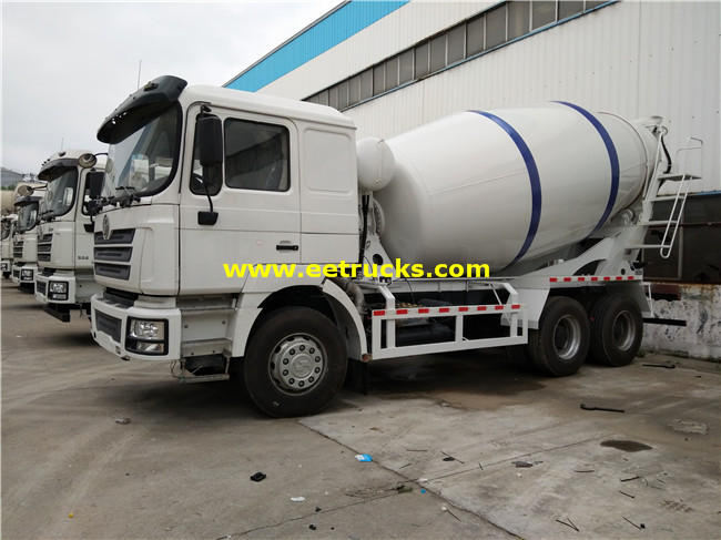 10 Wheel 6000L Cement Truck Mixers
