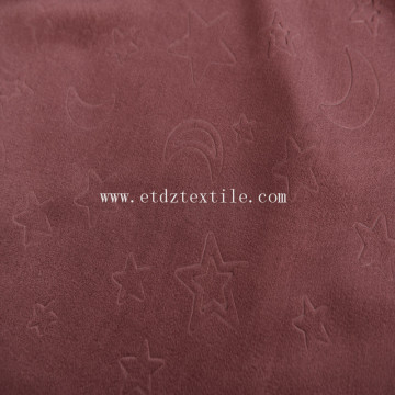 Fleece blackout fabric