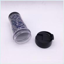 BPA Free PP Doppelwand Reisebecher mit Silikonhülle