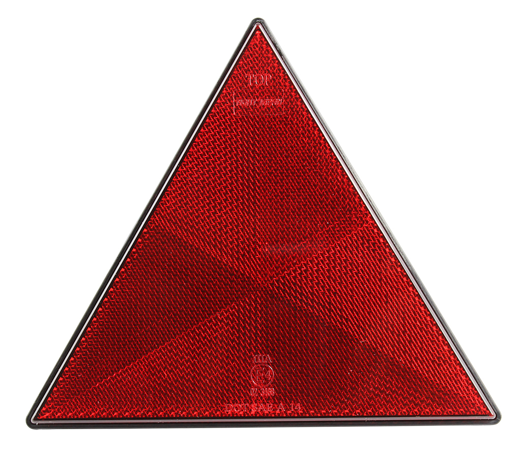 UV PC E4 LED Trailer Triangle Warning Reflectors