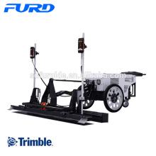 Machine de mise à niveau concrète de chape de laser de marche de Trimble
