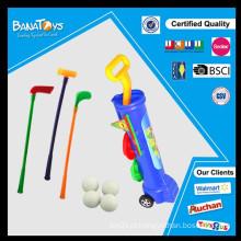 Super miúdos brinquedo plástico barato carro de golfe à venda