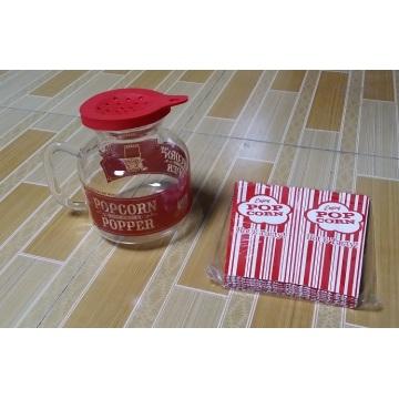 Pipoca de microondas resistente ao calor Popper / milho Popper / pipoca máquina / Popcorn Maker