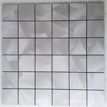 tuile de mosaïque extra fine en acier inoxydable--tuile en acier inoxydable