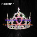 4inch Ribbon Crystal Pageant Crowns