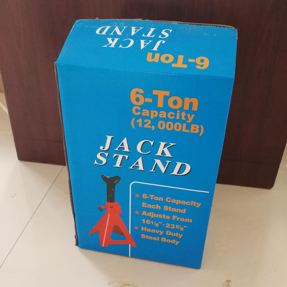 6T jack stand box