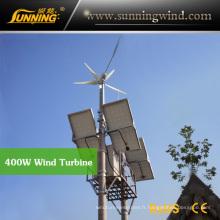 Utilisation résidentielle de maison de turbine de vent de moteur du générateur 400wdc de vent