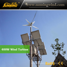 Residential Wind Generator 400wdc Motor Wind Turbine Home Use