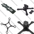 7.0x400x500mm Drone Parts Hoja de fibra de carbono